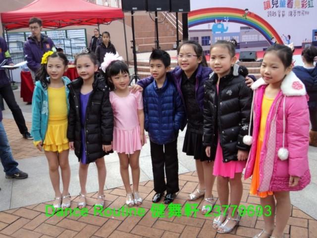2014年2月22日舞蹈表演@九龍公園